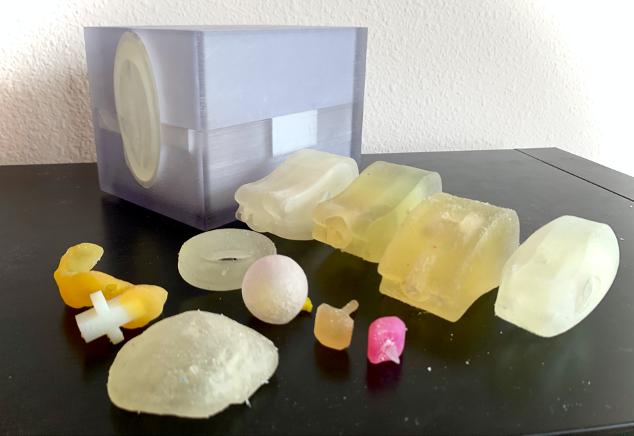 Brachytherapy training kit printed model